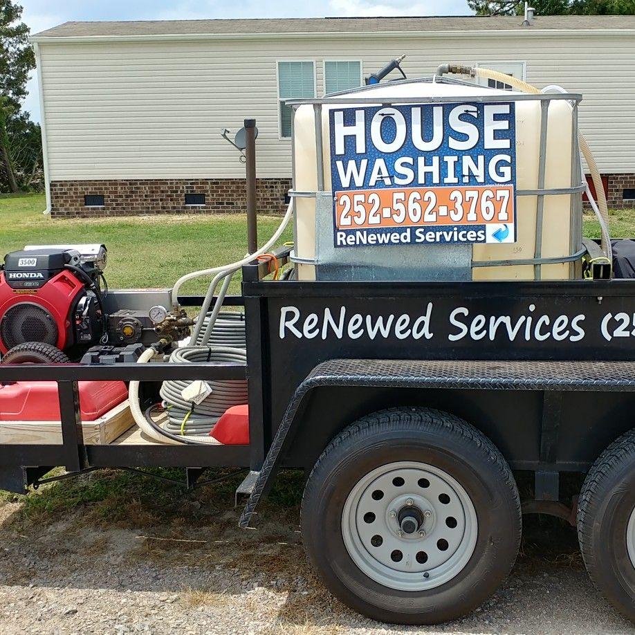 ReNewed Services  (Pressure & Soft Washing)