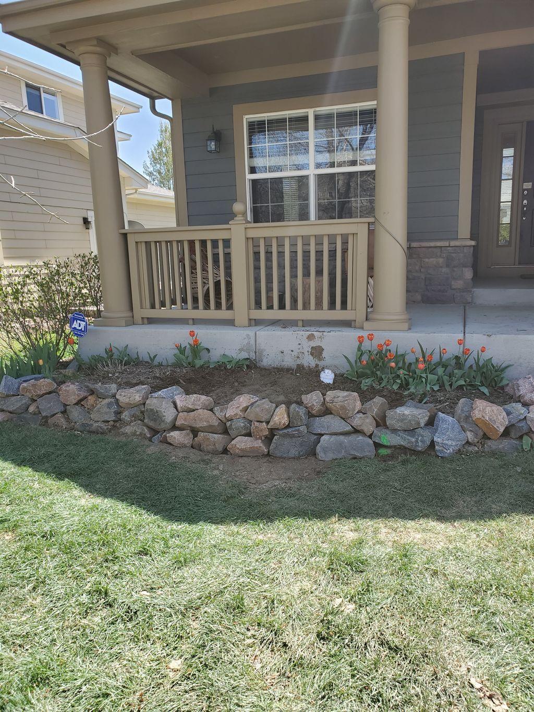 Rebuild garden wall