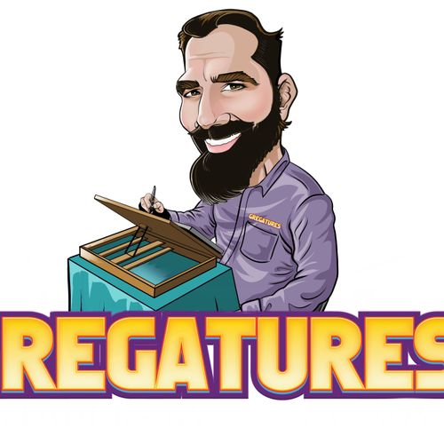 Hello, I'm Greg of GREGATURES! Welcome to my Thumbtack page. I'm looking forward to helping you make your event a big hit!