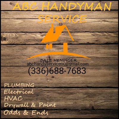 Avatar for ABC Handyman Services Winston Salem, NC Thumbtack