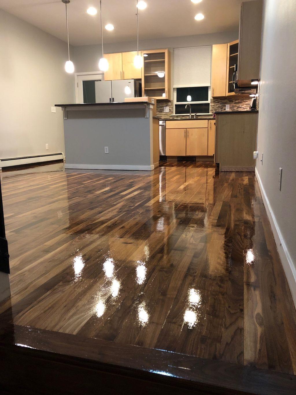 Hardwood Floor Refinishing - Denver 2019