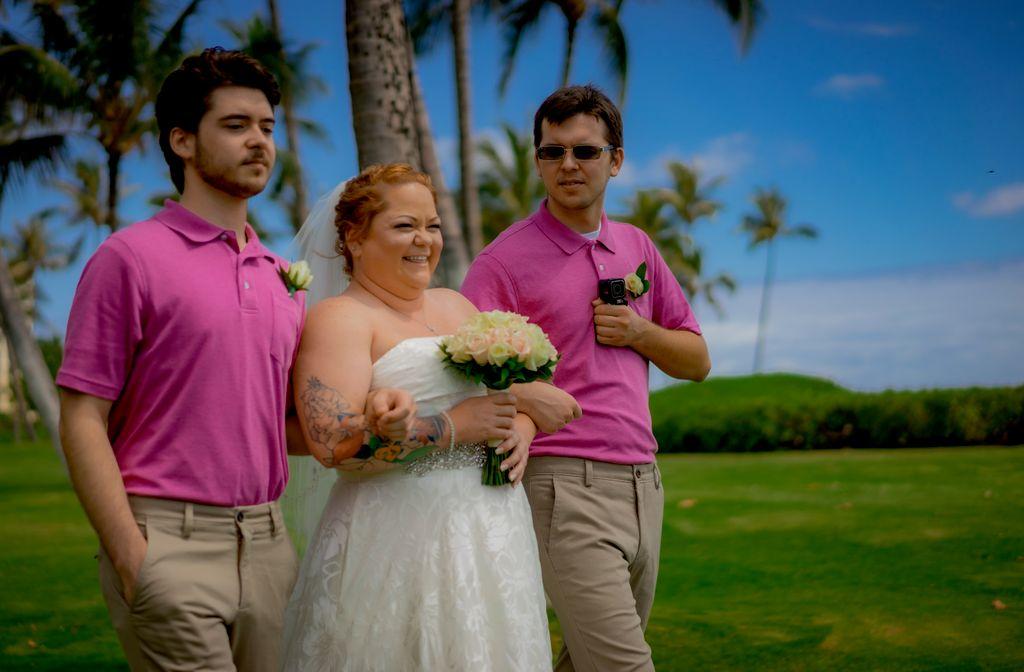 Idylic Oceanside Wedding