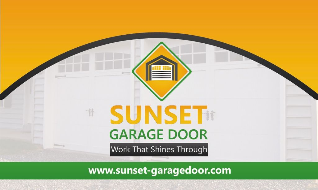 Sunset Garage Door