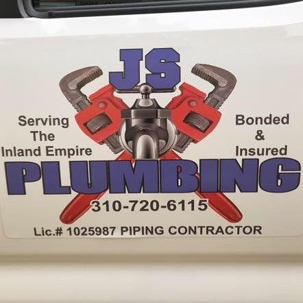 JS plumbing bonded & insured