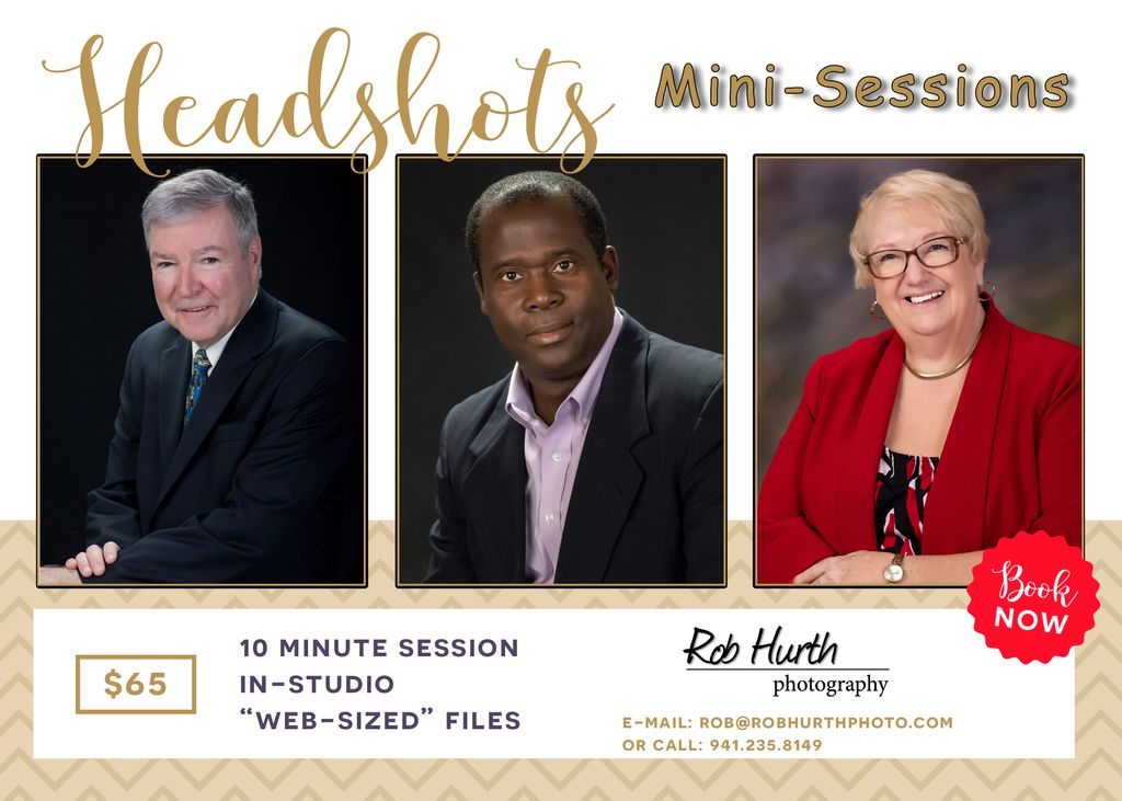 Head Shots - Mini Sessions