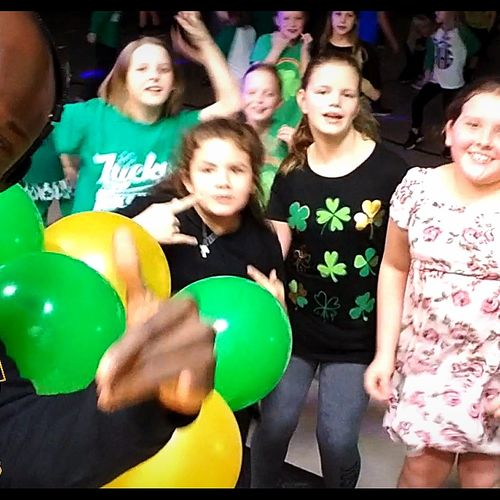 All Smiles--DJBlaxx Rockin Out at KidzBop Party