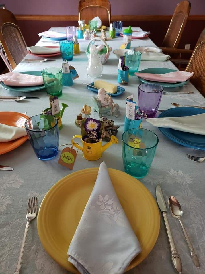 Baptism Luncheon on Easter