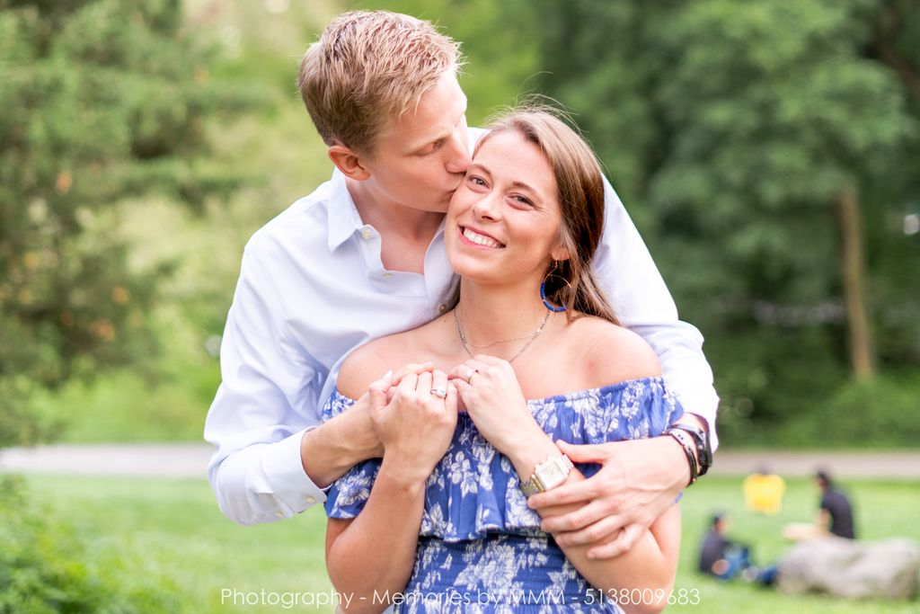 Johan & Alexandra's Surprise Proposal and Engagement Portraits