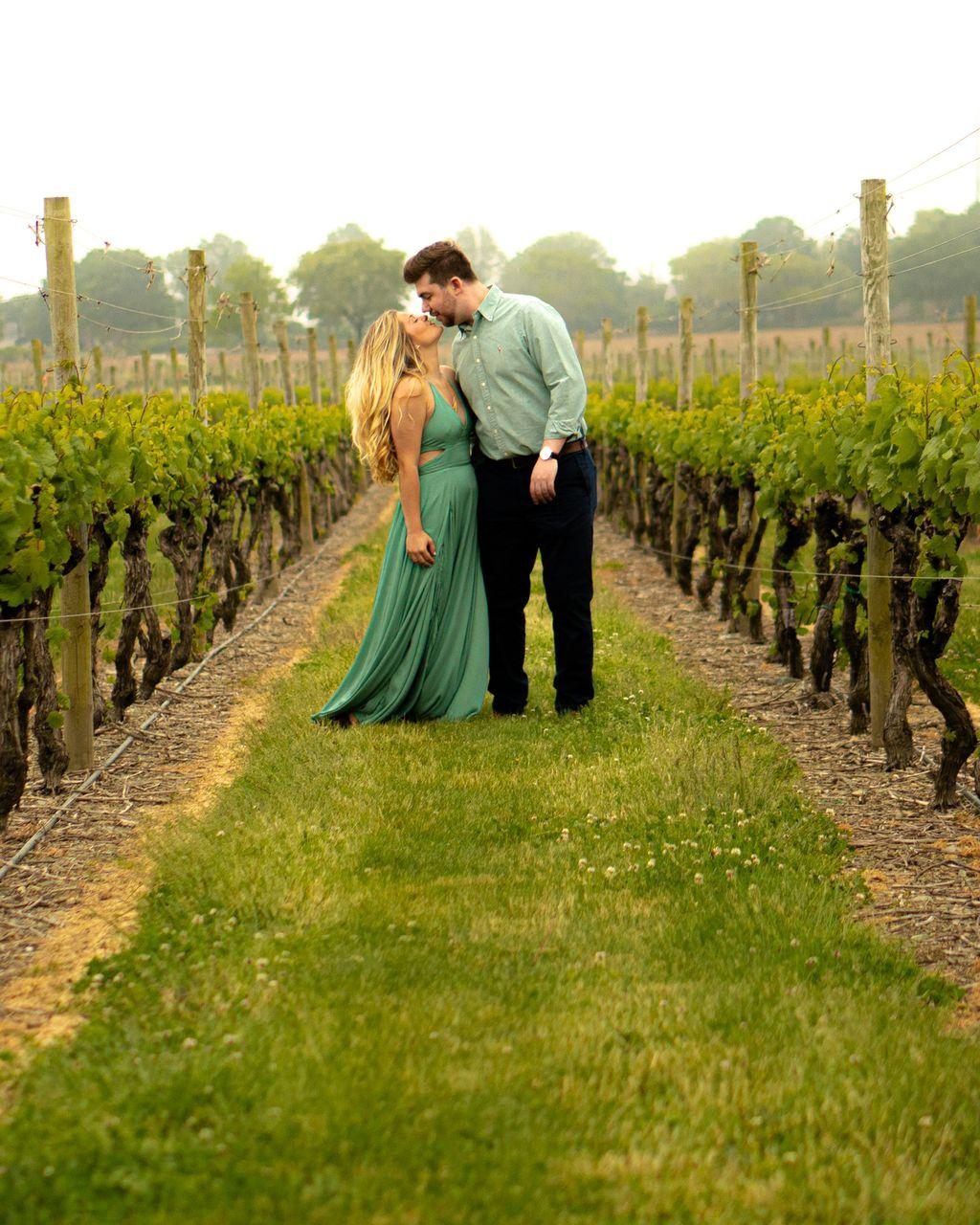 Engagement at the Vineyard