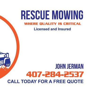 Avatar for Rescue Mowing Saint Cloud, FL Thumbtack