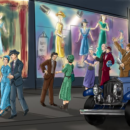 1930's storefront