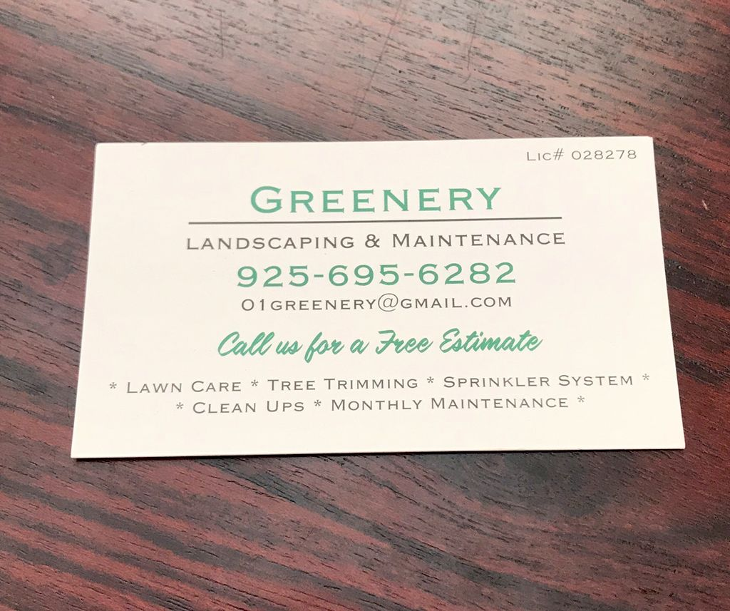 Greenery Landscaping & Maintenance