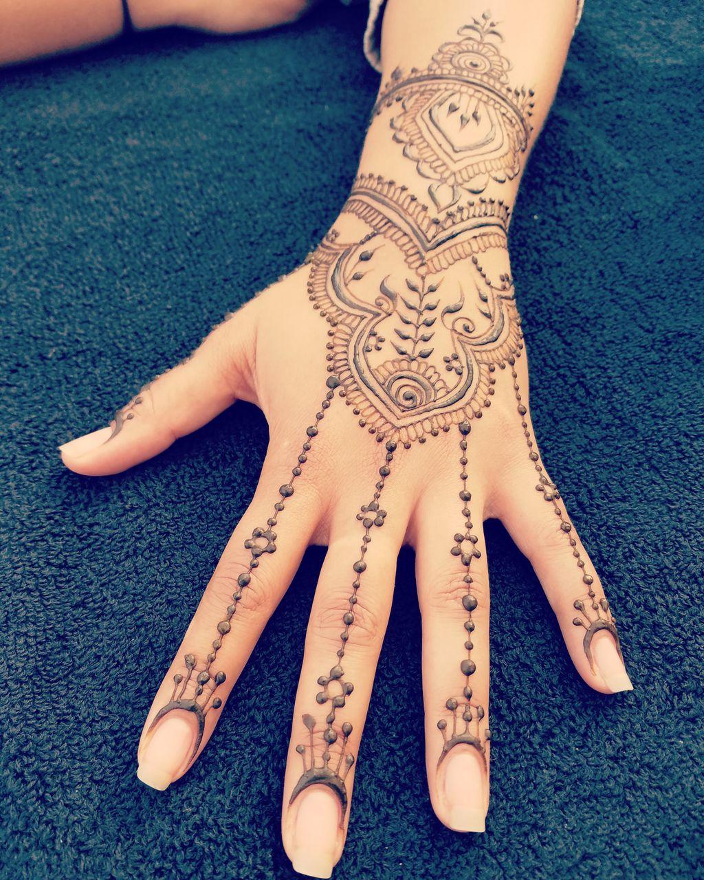 Elaborate Henna Tattoos