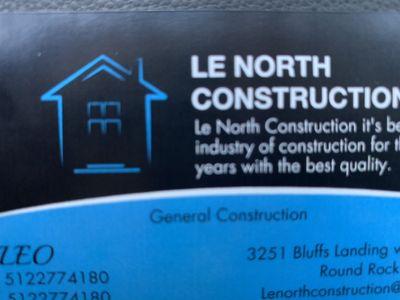 Avatar for Lenorthconstruction LLC Round Rock, TX Thumbtack