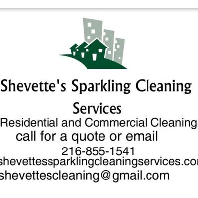 Avatar for Shevette's Sparkling Cleaning Services LLC Cleveland, OH Thumbtack