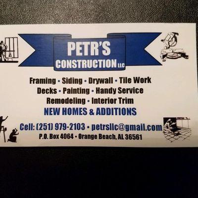 Avatar for Petrs Construction LLC