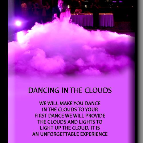 Dance in the Clouds to Your First Dance