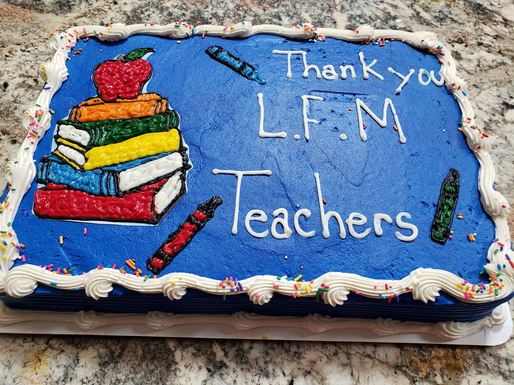 Teacher appreciation celebration