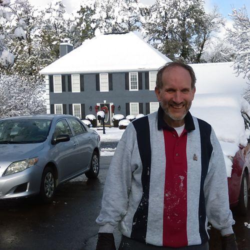 Atlanta in Snow