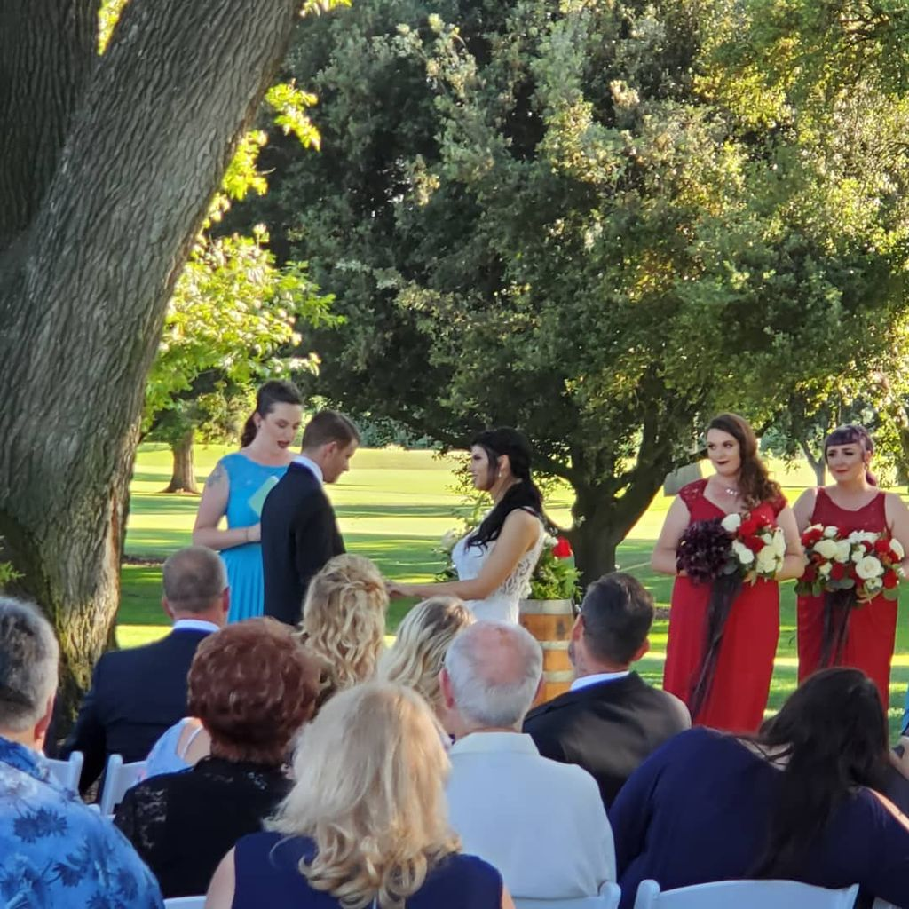 Wedding at Spring Creek Golf & Country Course