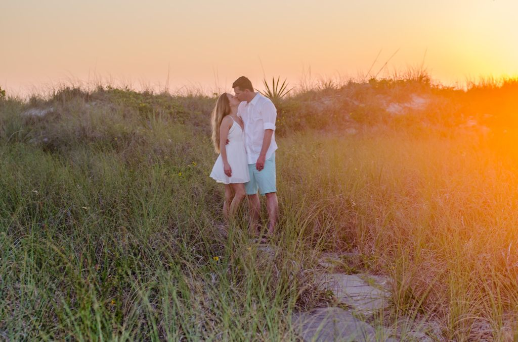 St Pete Beach Casual Engagement