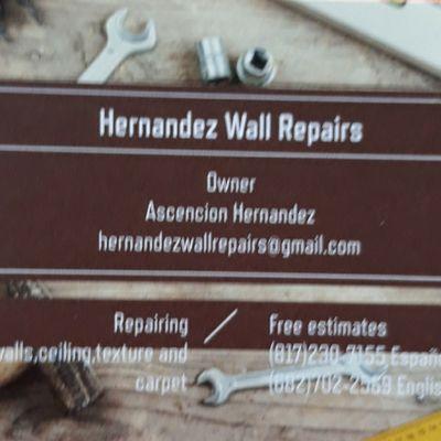 Avatar for Hernandez Wall Repairs