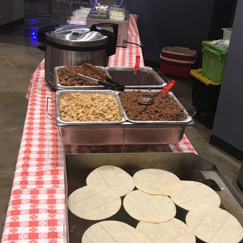 Full Taco Bar Buffet