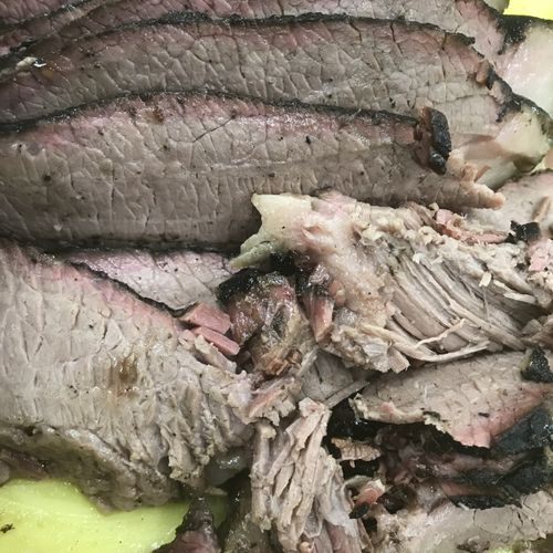 Smoked Brisket (16 hours, low and slow)