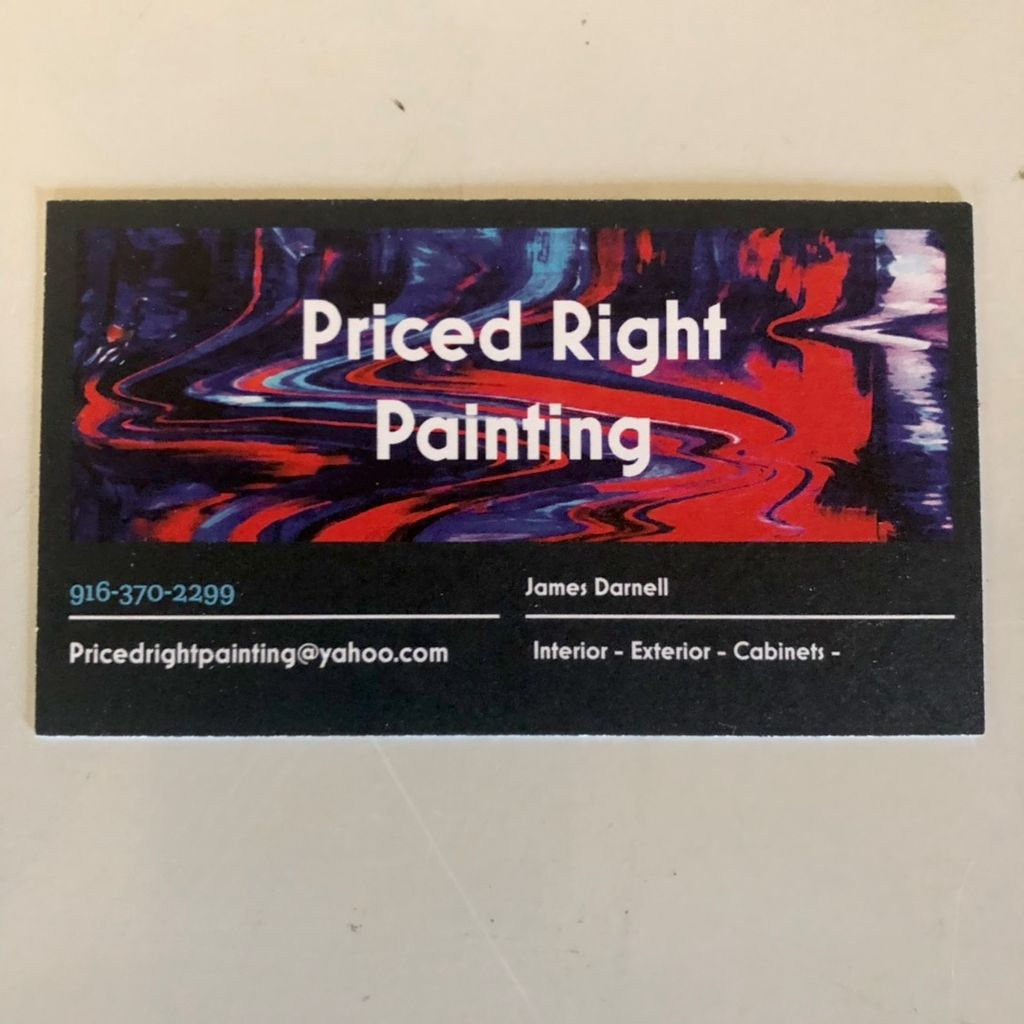 Priced Right Painting