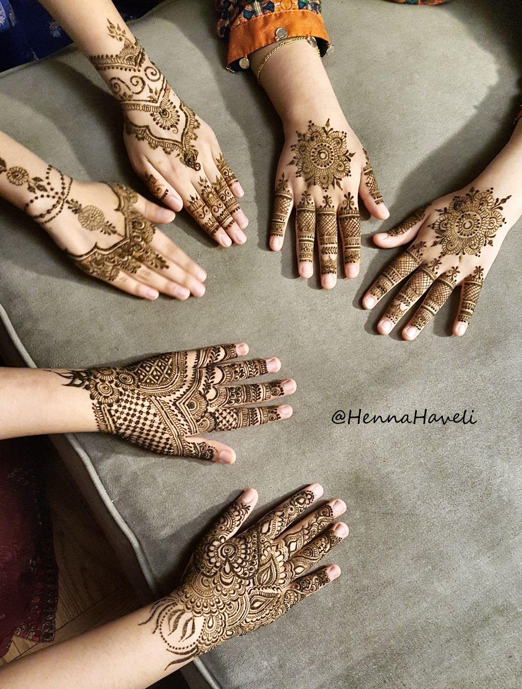 Henna for attending wedding Aug, 2018