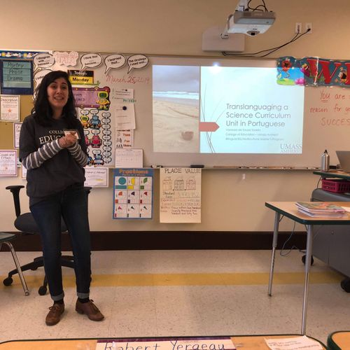 presenting at the Multistate Association for Bilingual Education (MABE) 2019 conference