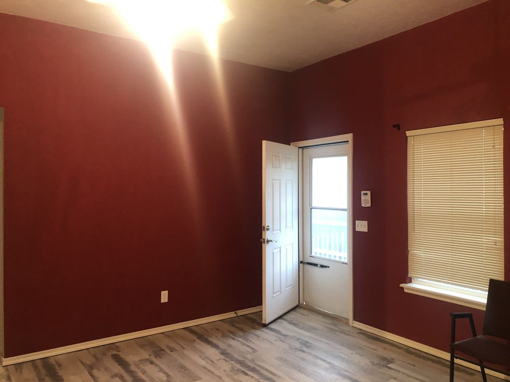 Kaye  Norman paint and cabinets