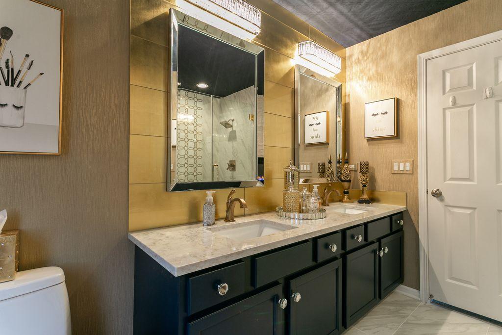 Glamorous Gold Master Suite