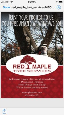 Avatar for Red Maple tree services Norcross, GA Thumbtack