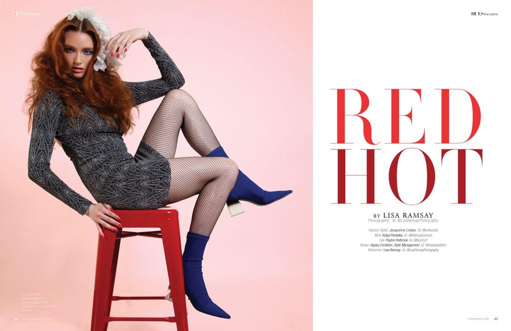 Editorial shoot published at 7hues Magazine