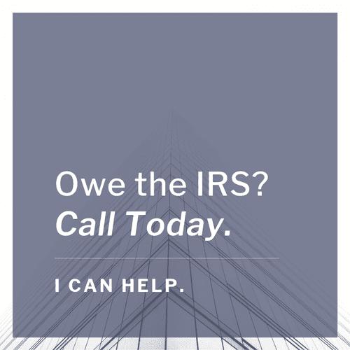 IRS Debt?