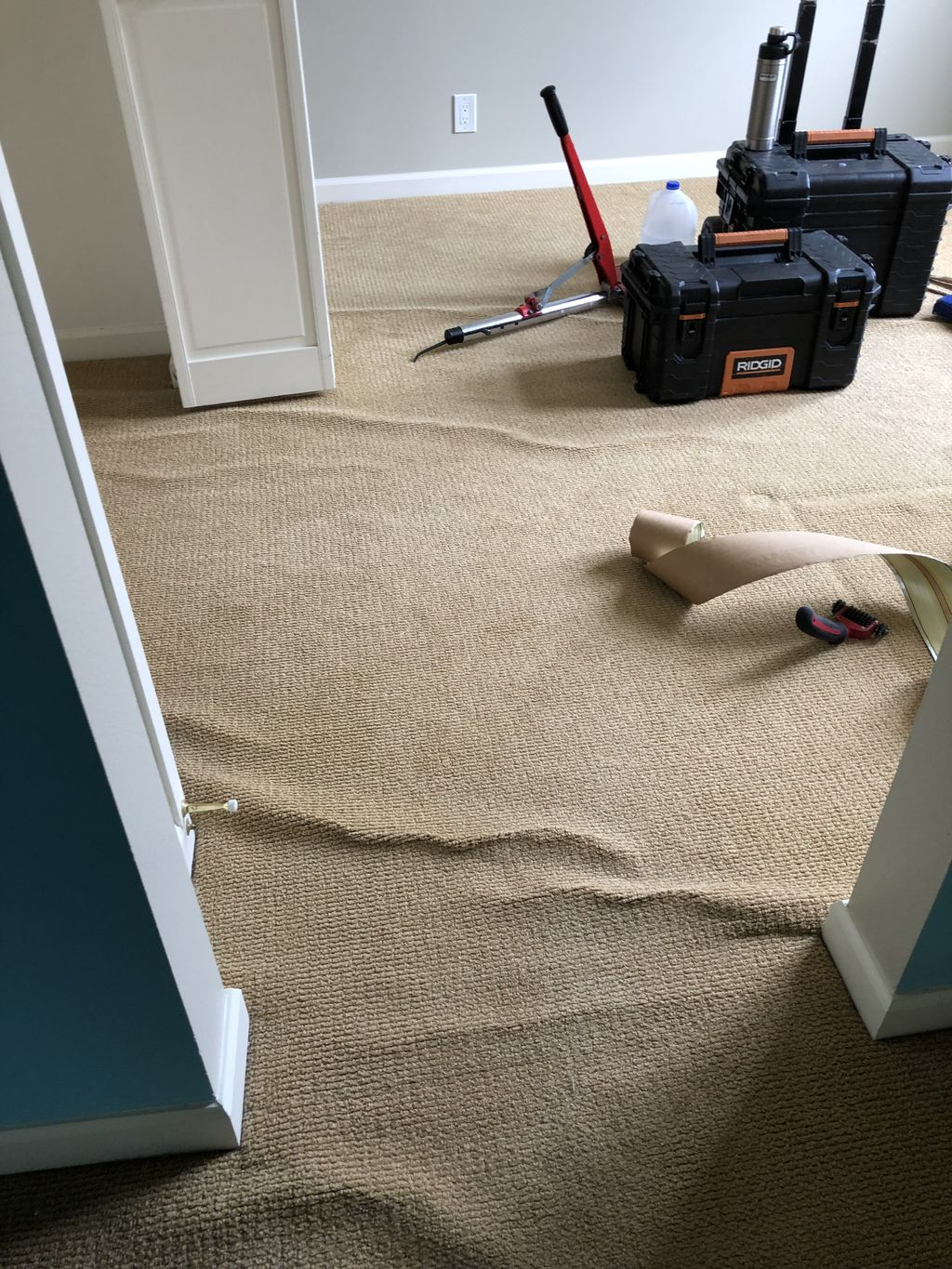 Carpet stretch