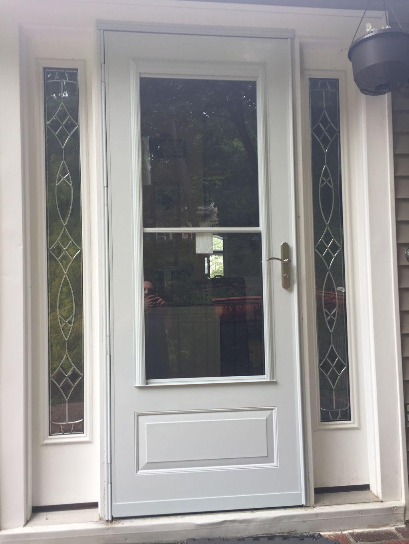 Storm door installation and gate repair