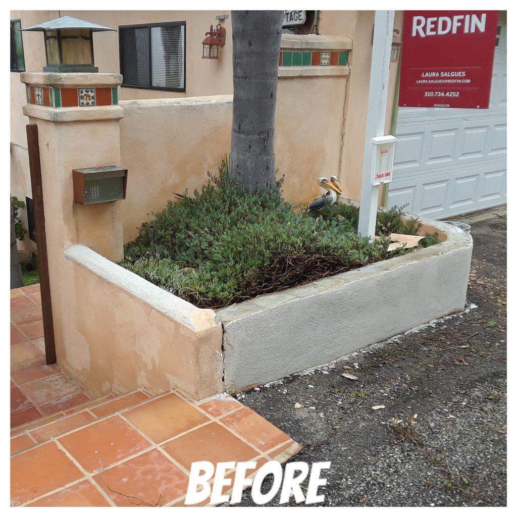 Retaining wall repair
