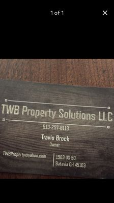 Avatar for TWB Property Solutions LLC Batavia, OH Thumbtack