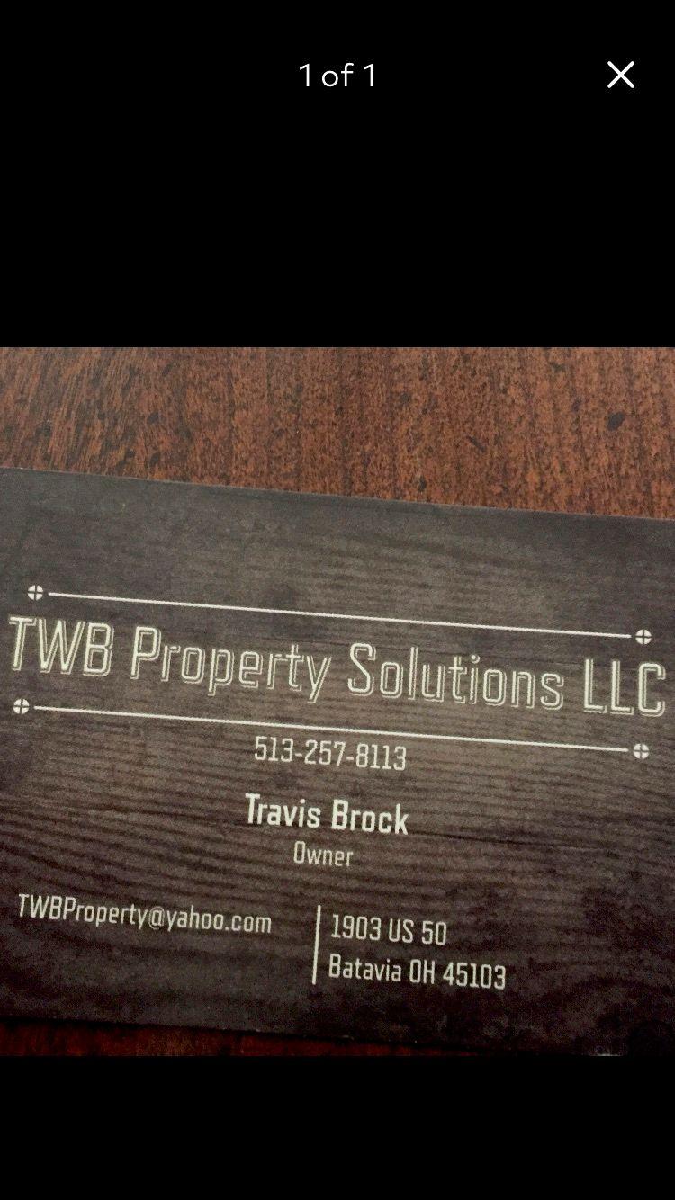TWB Property Solutions LLC