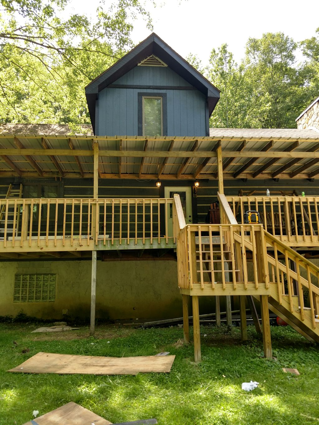 Deck and cover