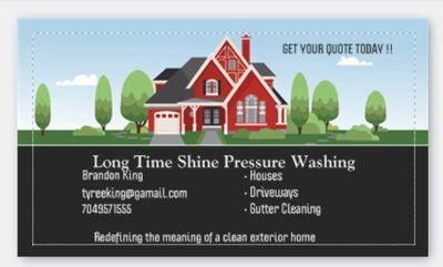 Avatar for Long Time Shine Pressure Washing Charlotte, NC Thumbtack