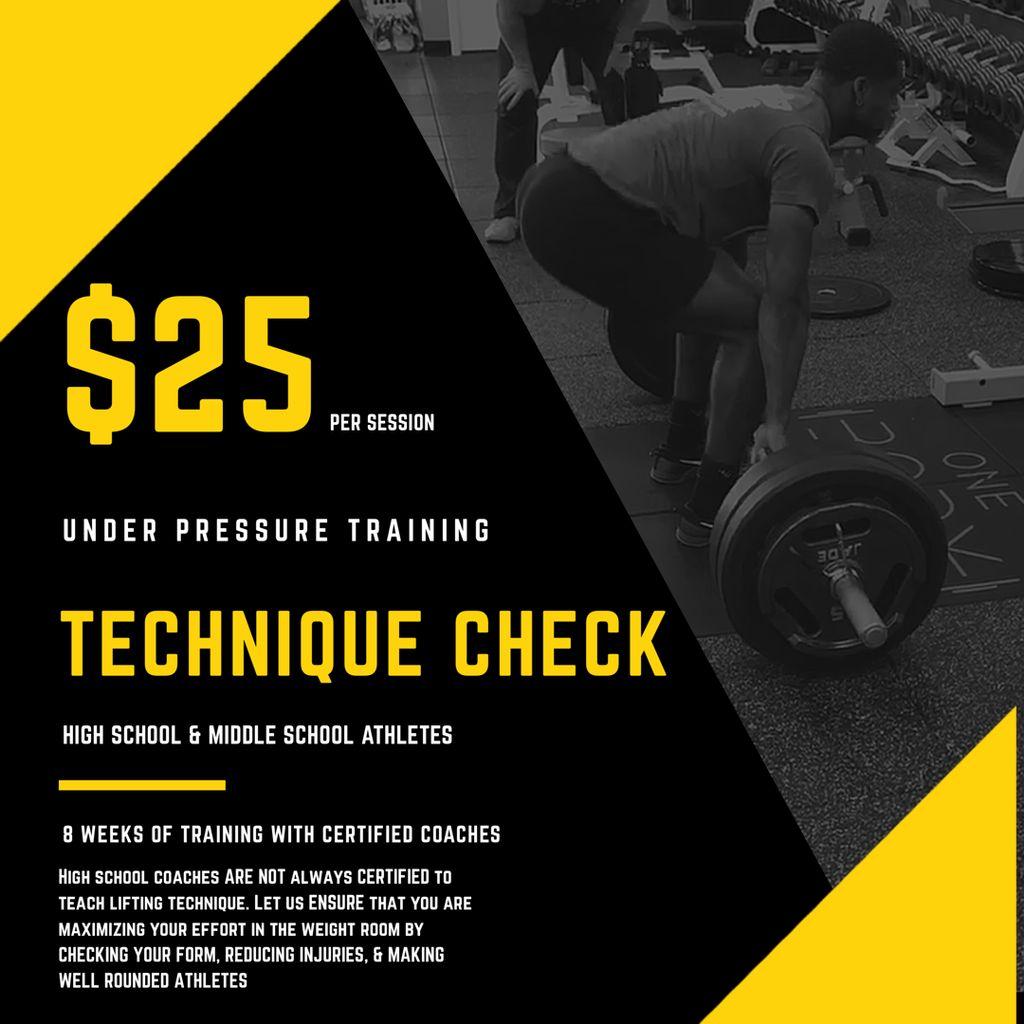 Technique Check