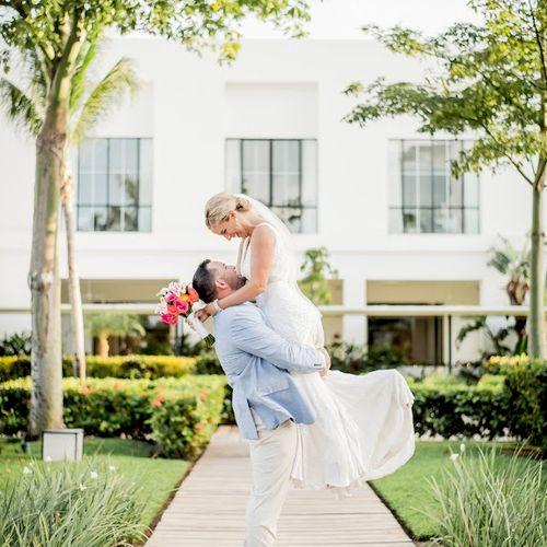 Kaitlin and Alfredo's Wedding Finest Playa Mujeres May 2019