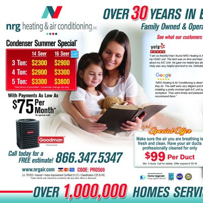 Avatar for NRG Heating & Air Conditioning Canoga Park, CA Thumbtack