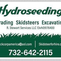 Hydroseeding by R.Stewart services llc