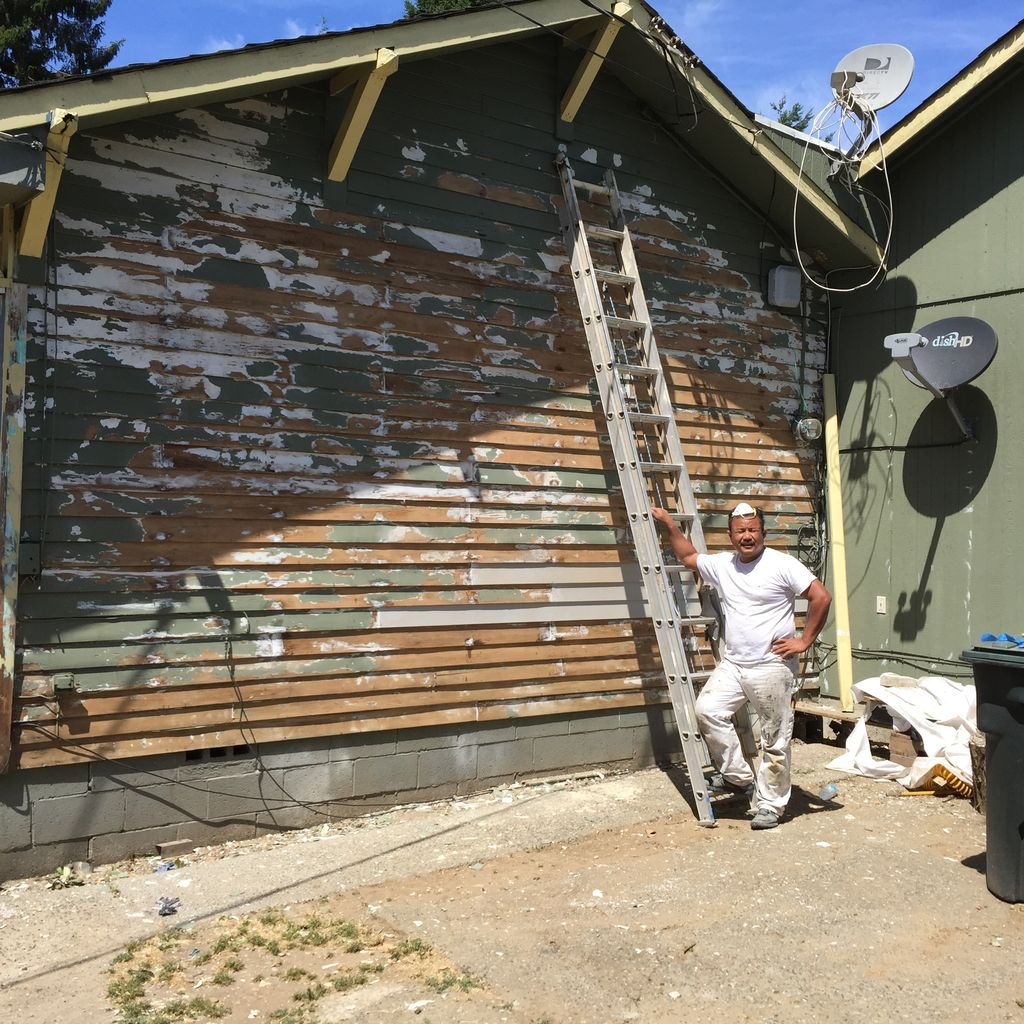 Exterior painting and repair