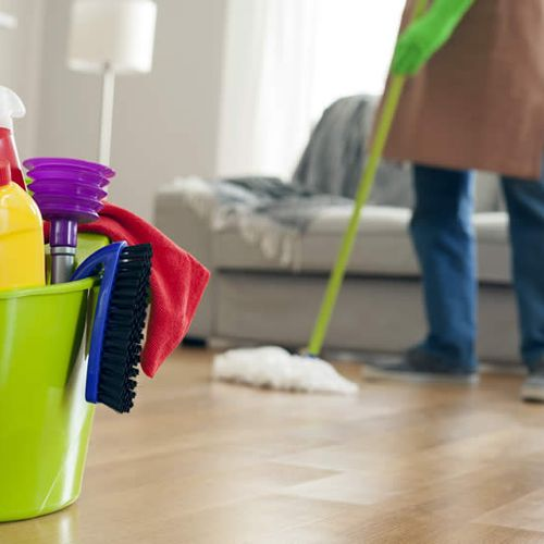 A dirty, dusty room can irritate your sinuses and cause allergies while germs and bacteria can lead to illness.