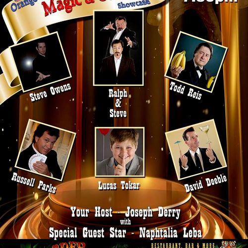 OC Magic Showcase promo Feb 2015